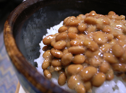 how to eat natto beans