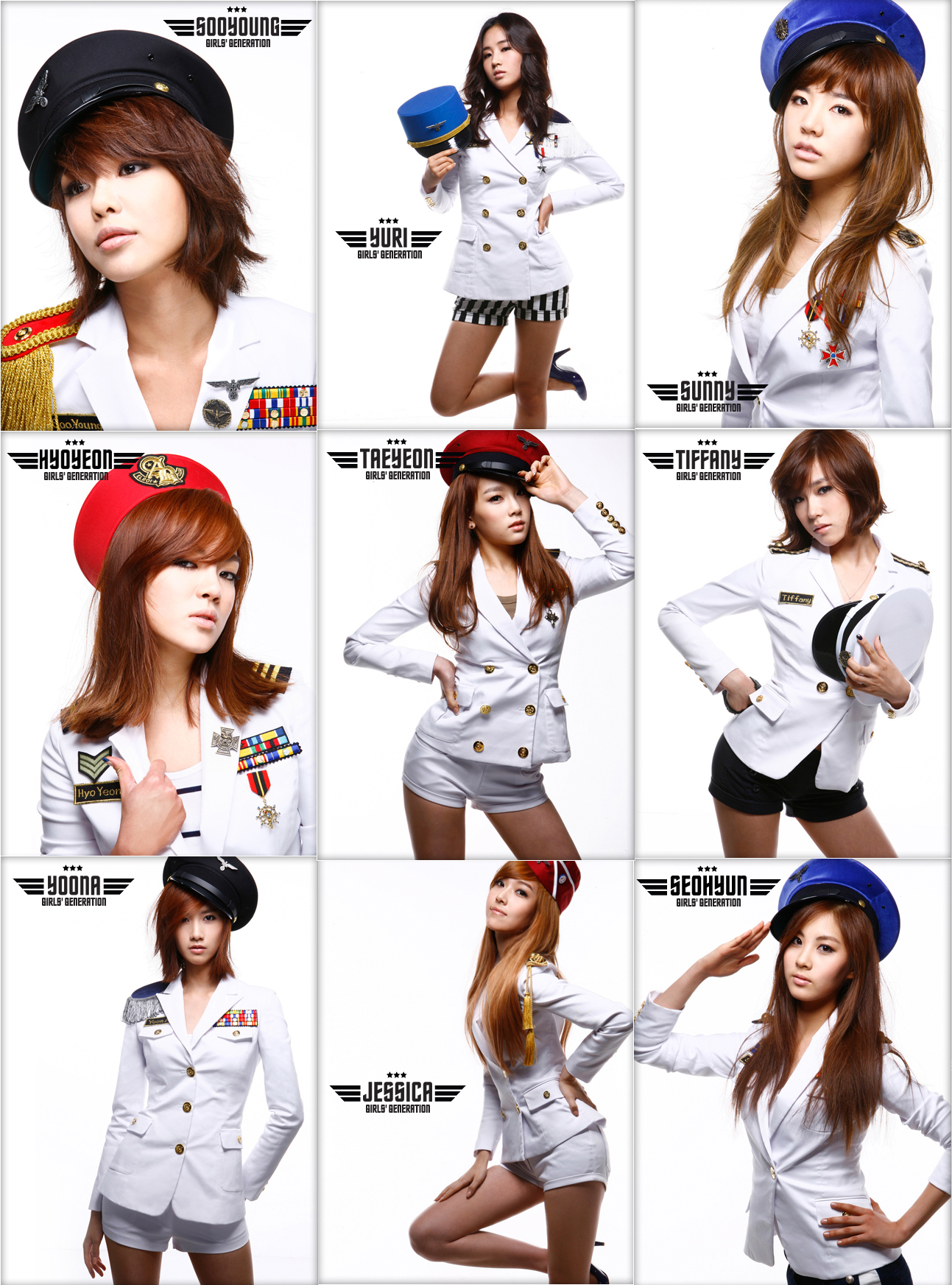 How Tall Are Snsd Members http://snsdkorean.com/2011/08/05/from-high-school-girls-to-definitive-women/