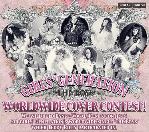 "The Boys"" Global Cover Contest!   SNSD Korean"