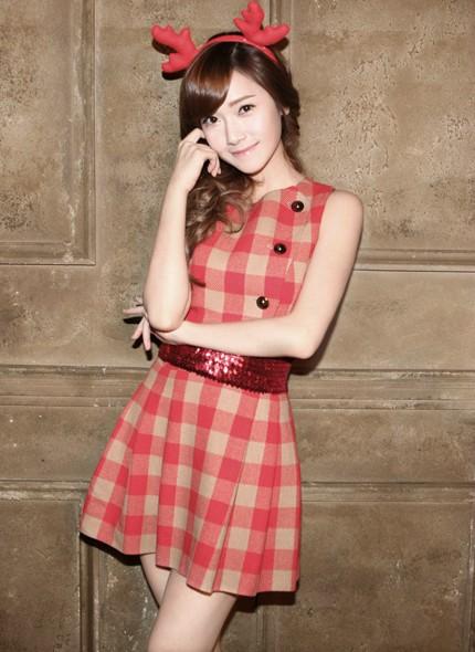 SNSD - Girls' Generation - Thiếu nữ thời đại - Page 3 Jess-xmas