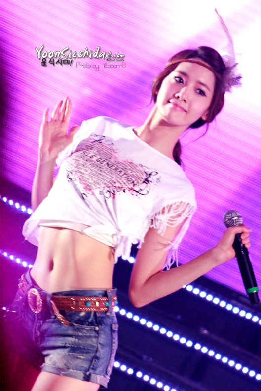 How did SNSDs Yuri get those perfect abs  allkpop