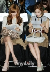 snsd taeyeon tiffany seoul fashion week (21)