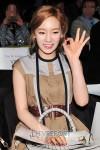 taeyeon tiffany hong hye jin fashion show (1)