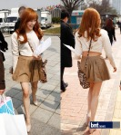 taeyeon tiffany hong hye jin fashion show (15)