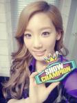 taeyeon mbc show champion