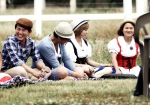 snsd hyoyeon sunny invincible youth 2 filming (3)