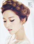 SNSD Jessica f(x) Krystal Marie Claire Magazine (4)