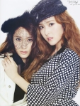 SNSD Jessica f(x) Krystal Marie Claire Magazine (7)
