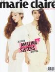 SNSD Jessica f(x) Krystal Marie Claire Magazine (9)
