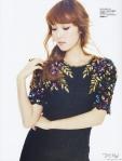 SNSD Jessica f(x) Krystal Marie Claire Magazine