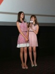 snsd yoona and jessica at I AM movie screening (1)