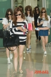 snsd airport pictures arrival in korea from japan (1)