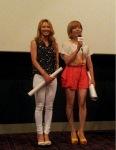 snsd sunny  hyoyeon at i am movie screening (1)