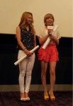 snsd sunny  hyoyeon at i am movie screening (2)