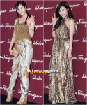 snsd tiffany and seohyun at salvatore ferragammo event (59)
