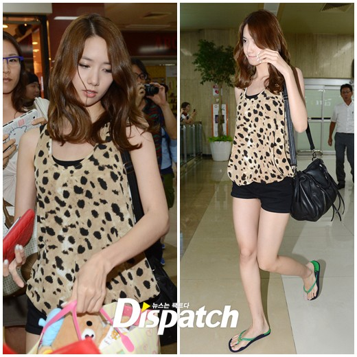 snsd airport pictures back in korea from japan (1)
