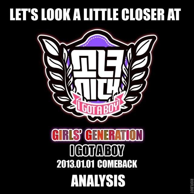 "I GOT A BOY"" The Analysis | SNSD Korean"