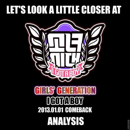 SNSD I Got a Boy edit