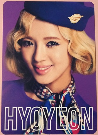 snsd hyoyeon 2nd japan tour photo cards (1)
