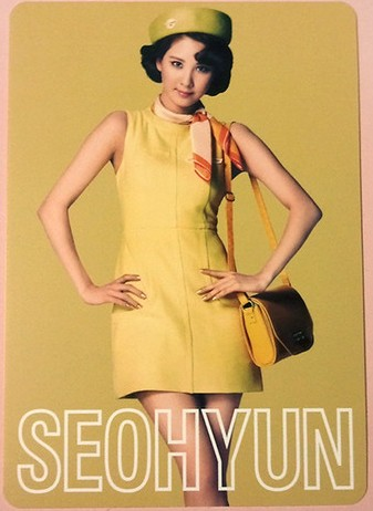 snsd seohyun 2nd japan tour photo cards (2)