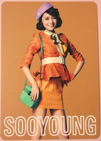 snsd sooyoung 2nd japan tour photo cards (1)