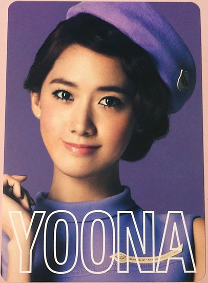 snsd yoona 2nd japan tour photo cards (1)
