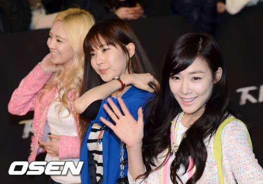 snsd seohyun tiffany hyoyeon gi joe 2 premiere (4)