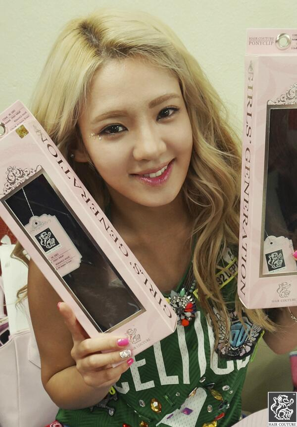 Snsd Show Off Their Hair Couture Products Hair Couture Show Off