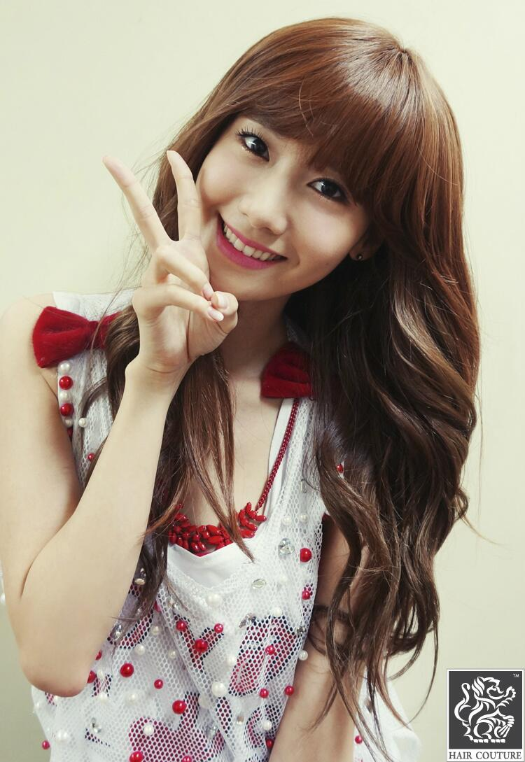 The return of Lid Yoong; Yoona shows off her new bangs ...