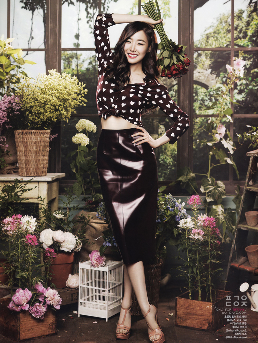 Tiffany's gorgeous floral-themed photoshoot for CeCi's ...