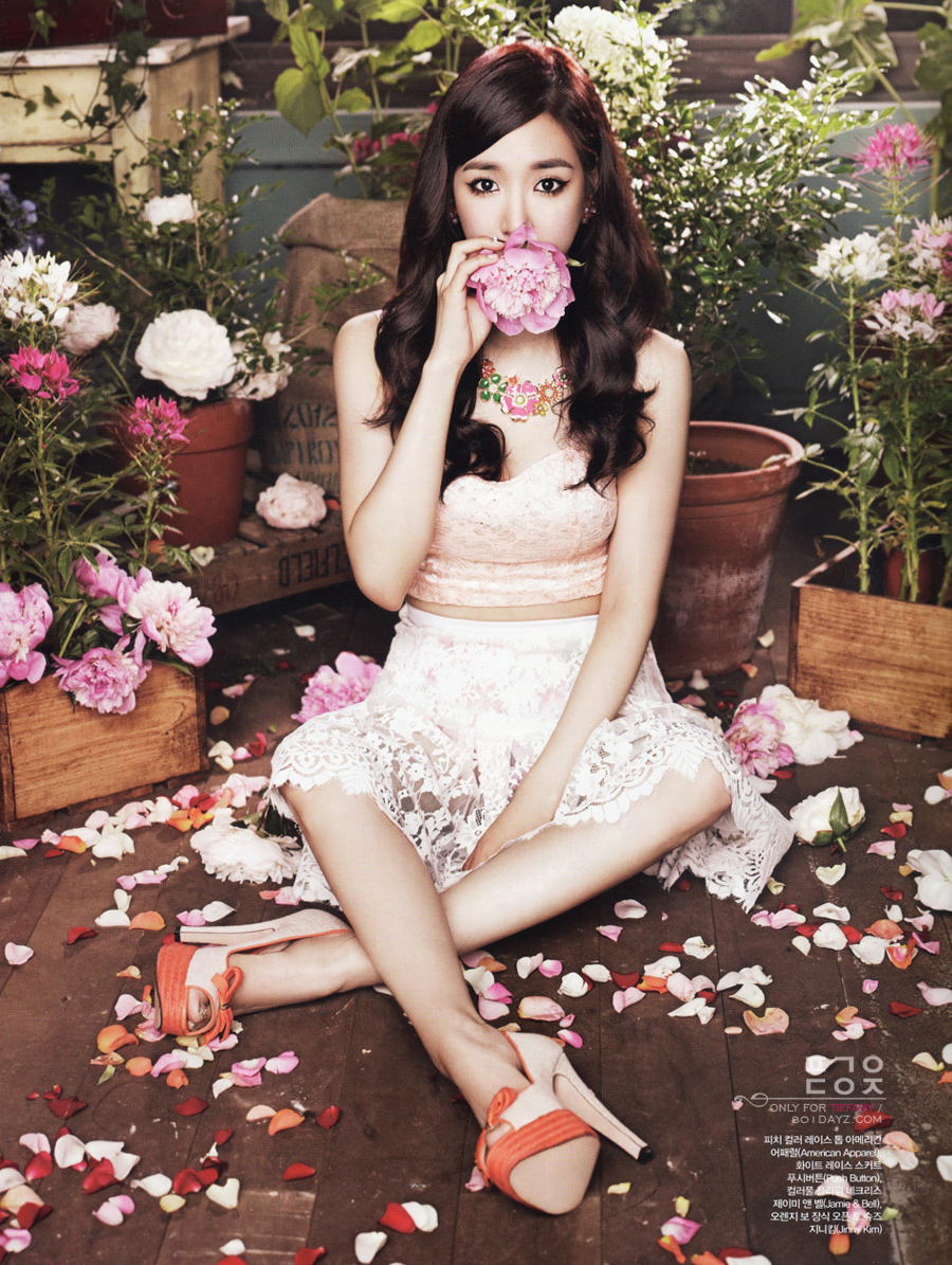 Tiffany S Gorgeous Floral Themed Photoshoot For Ceci S